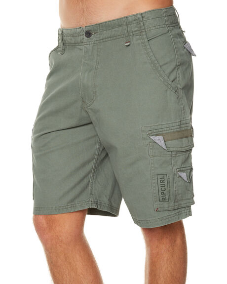 MID GREEN MENS CLOTHING RIP CURL SHORTS - CWAIZ19436