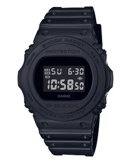 BLACK  BLACK MENS ACCESSORIES G SHOCK WATCHES - DW5750E-1BBLKBK