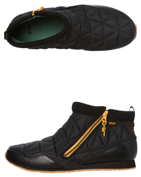 BLACK OUTLET MENS TEVA SLIP ONS - T1103234BLK