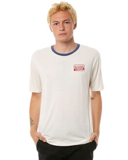 OFF WHITE MENS CLOTHING BRIXTON TEES - 06716OFFWH