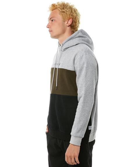GREY MARLE MENS CLOTHING HUFFER JUMPERS - MHD81S281GRYM