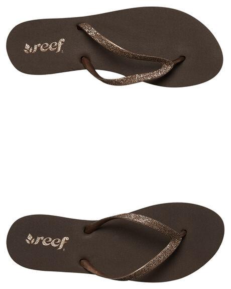 BRONZE WOMENS FOOTWEAR REEF THONGS - 1949BRZ