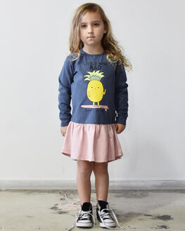 FLOSS KIDS GIRLS KISSED BY RADICOOL DRESSES + PLAYSUITS - KR0907FLS