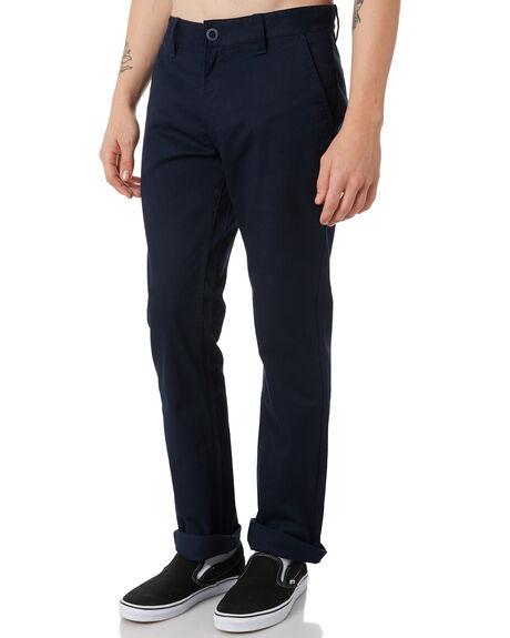 NAVY MENS CLOTHING BRIXTON PANTS - 04044NVY
