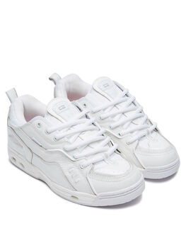 PATENT WHITE MENS FOOTWEAR GLOBE SKATE SHOES - GBCTIVCPATWH