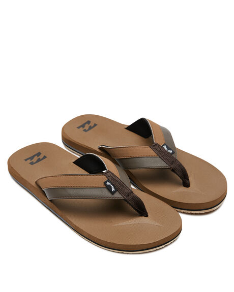 CAMEL MENS FOOTWEAR BILLABONG THONGS - 9607933CML
