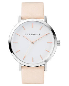 WHITE ROSE GOLD VEG MENS ACCESSORIES THE HORSE WATCHES - ST0123-A8WRGVT