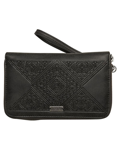 ANTHRACITE WOMENS ACCESSORIES ROXY PURSES + WALLETS - ERJAA03236KVJ0