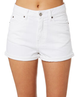 WHITE WOMENS CLOTHING DR DENIM SHORTS - 1610103-199