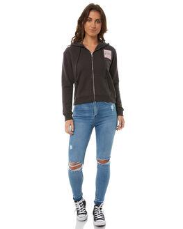 OFF BLACK WOMENS CLOTHING BILLABONG JUMPERS - 6585747OBLK