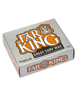 ORANGE SURF ACCESSORIES FAR KING WAX - 1003ORG