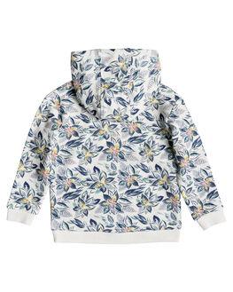 MARSHMALLOW FLOWER KIDS GIRLS ROXY JUMPERS + JACKETS - ERLFT03177-XMBW
