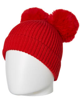 RED KIDS GIRLS ROCK YOUR BABY HEADWEAR - TGI1923-MRRED
