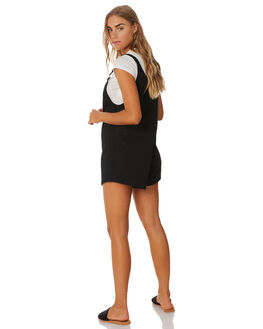 WASHED BLACK WOMENS CLOTHING SWELL PLAYSUITS + OVERALLS - S8174452WSHBLK