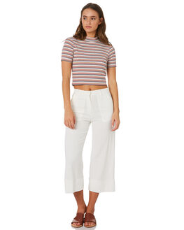 OFF WHITE WOMENS CLOTHING MINKPINK PANTS - MP1808431OFFWH