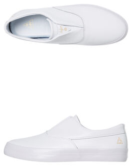 WHITE MENS FOOTWEAR HUF SNEAKERS - VC00071-WHITE