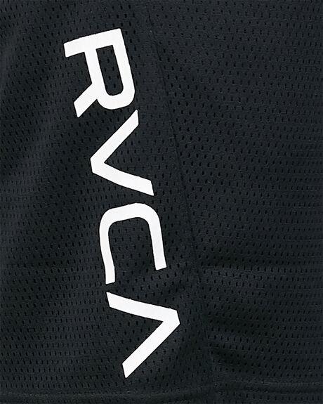 BLACK MENS CLOTHING RVCA SHORTS - RV-R305311-BLK
