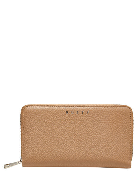 LATTE WOMENS ACCESSORIES RUSTY PURSES + WALLETS - WAL0823LAT