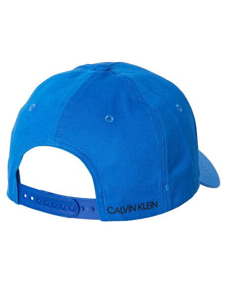 DUKE BLUE MENS ACCESSORIES CALVIN KLEIN HEADWEAR - KM00133-446DKBLU