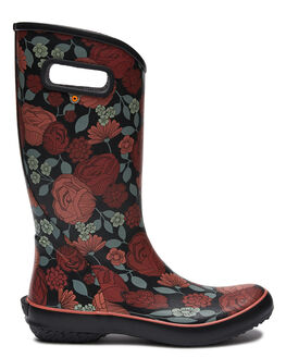 RED BLACK WOMENS FOOTWEAR BOGS FOOTWEAR BOOTS - 972437606