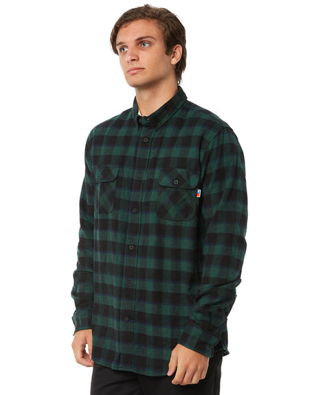 GREEN BAY MENS CLOTHING ZOO YORK SHIRTS - ZY-MSA8132GRN