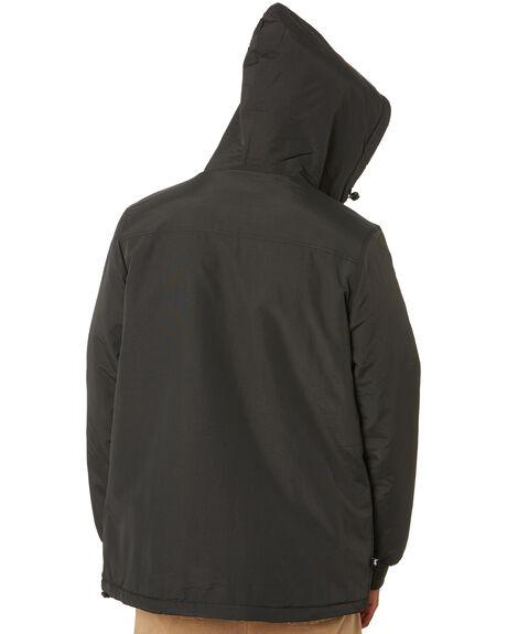 BLACK CREAM MENS CLOTHING STUSSY JACKETS - ST001504BLKCR