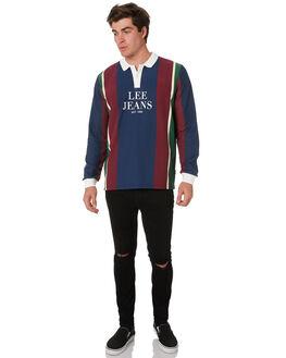 DELTA BLACK DESTROY MENS CLOTHING LEE JEANS - L-606514-MA0DBLK