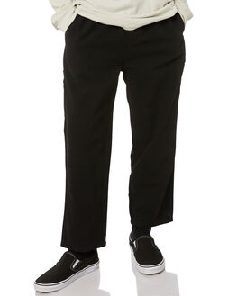 BLACK MENS CLOTHING STUSSY PANTS - ST005602BLK