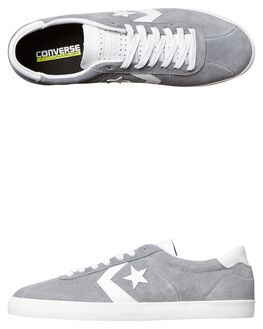 CHARCOAL WHITE MENS FOOTWEAR CONVERSE SKATE SHOES - 157905CHAR