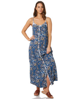 BLUE FLORAL WOMENS CLOTHING O'NEILL DRESSES - 5421612BLF