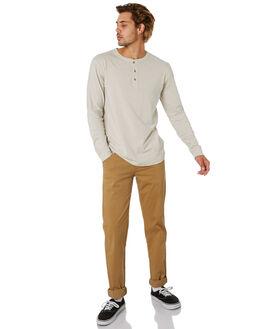 PUMICE MENS CLOTHING MCTAVISH TEES - MA-20LS-03PUMCE
