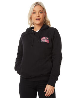 BLACK WOMENS CLOTHING RUSTY JUMPERS - FTL0679BLK