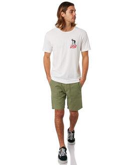 VINTAGE WHITE MENS CLOTHING DEUS EX MACHINA TEES - DMP91787DVNWHT