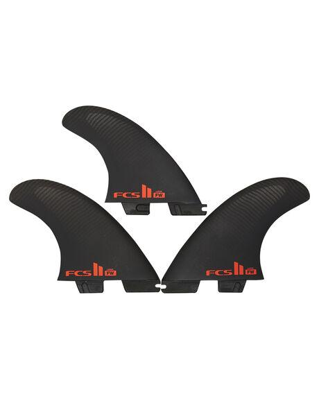 BLACK BOARDSPORTS SURF FCS FINS - FFWM-PC01-TS-RBLK