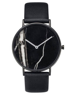 BLACK BLACK MARBLE MENS ACCESSORIES THE HORSE WATCHES - STO123-C1BKBKM