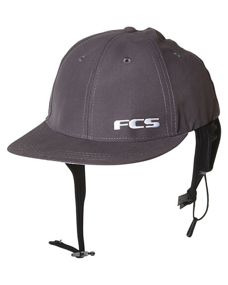 GUN METAL SURF ACCESSORIES FCS SURF HATS - 2925GUNMT1