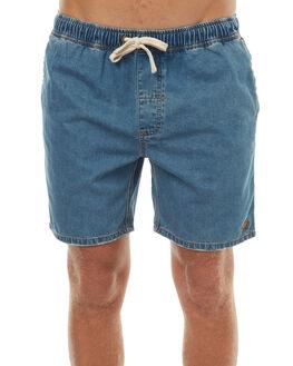 HERITAGE BLUE MENS CLOTHING THRILLS SHORTS - TDP-309HEHBLU
