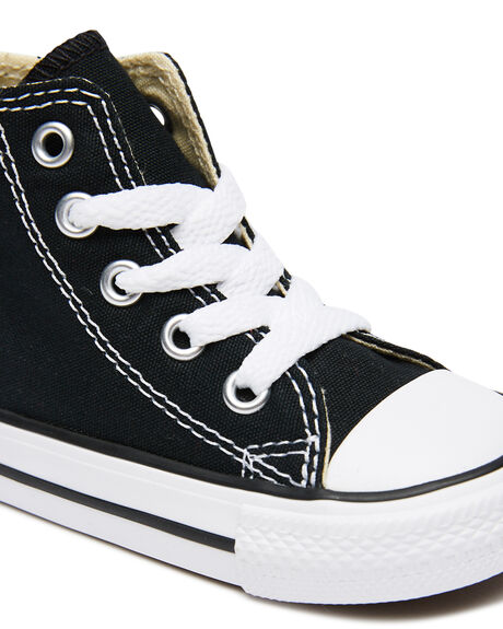BLACK KIDS BOYS CONVERSE FOOTWEAR - 7J231BLK
