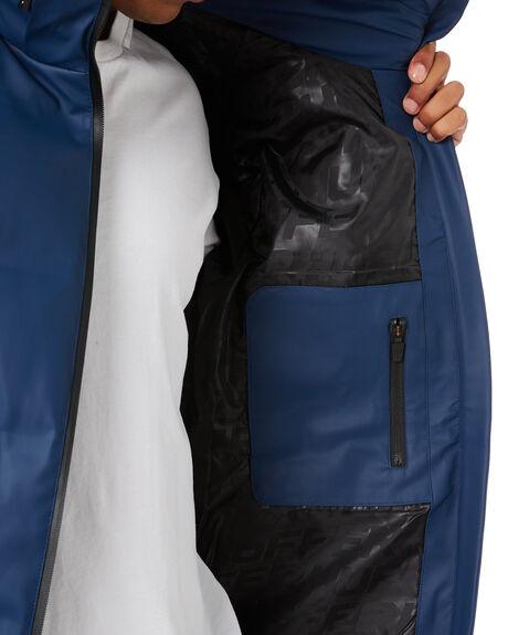 OIL BLUE MENS CLOTHING HUFFER JACKETS - MDJA11S1304OBL