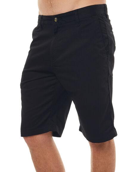 BLACK MENS CLOTHING VOLCOM SHORTS - A09313S0BLK