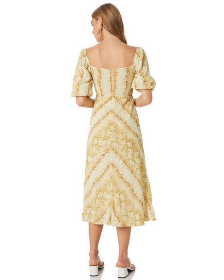 SNAKE OUTLET WOMENS LULU AND ROSE DRESSES - LU23950SNAKE