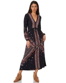 INDIGO WOMENS CLOTHING TIGERLILY DRESSES - T383425INDI