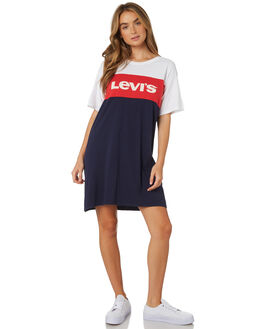 MULTI WOMENS CLOTHING LEVI'S DRESSES - 58919-0002MUL