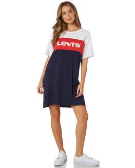 MULTI WOMENS CLOTHING LEVI'S DRESSES - 58919-0002MUL