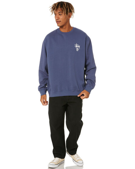 NEW NAVY MENS CLOTHING STUSSY JUMPERS - ST001205NWNVY