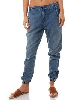 BLUE DENIM WOMENS CLOTHING O'NEILL PANTS - 4523101771