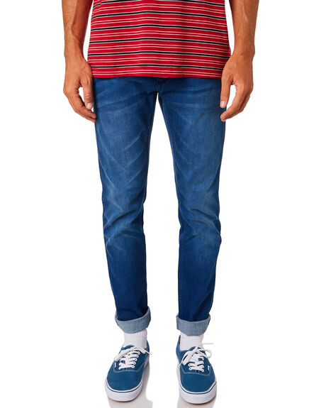 DARK TWIST MENS CLOTHING WRANGLER JEANS - W-901221-EX8DTWST