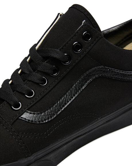 BLACK BLACK MENS FOOTWEAR VANS SKATE SHOES - SSVN-0D3HBKABLKBM