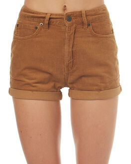 TAN OUTLET WOMENS THE HIDDEN WAY SHORTS - H8171235TAN