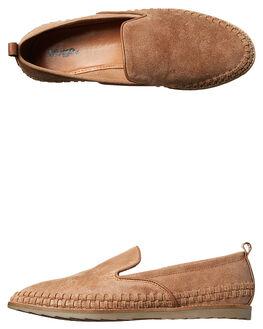 TAN MENS FOOTWEAR URGE SLIP ONS - URG16146TAN